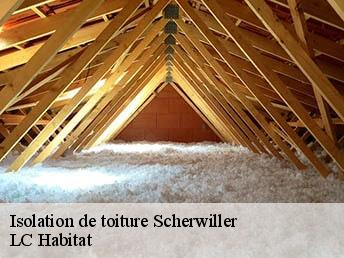 Isolation de toiture  scherwiller-67750