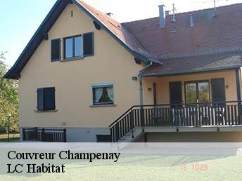 Couvreur  champenay-67420